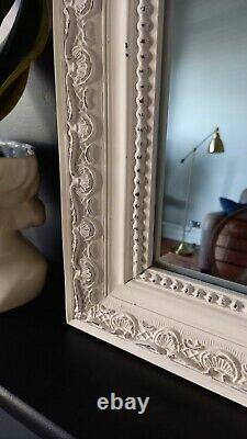 Antique, French, Ornate, Shabby Chic Style Mirror 106× 60 cm