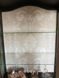 Antique Painted Shabby Chic French Display Cabinet/Armoire Upcycled Grey. Shop