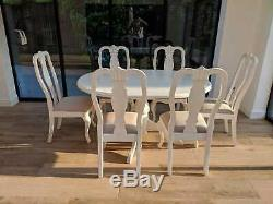 Beautiful French country shabby chic dining chair