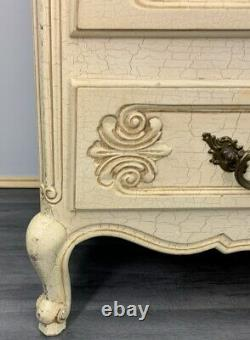 French Antique shabby chic Chest of Drawers / Sideboard/ in Louis XV style