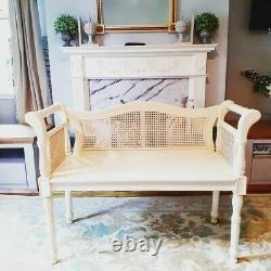 French Bench, Vintage Window Seat, Shabby Chic Seating Bench