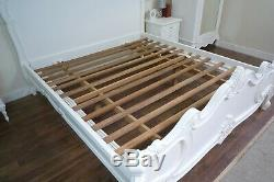 French Bordeaux Super King Size Bed In White Shabby Chic Style Bed