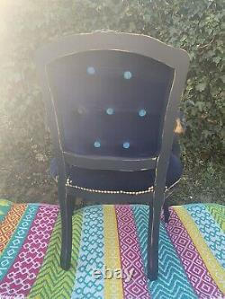 French Louis Style Arm Chair Emma J Shipley Fabric chateau chic Shabby