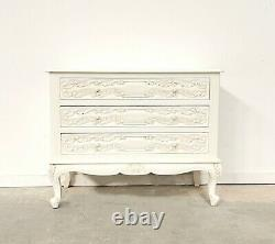French Lyon Chest Of Drawers French White Brand New Shabby Chic