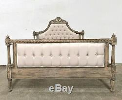 French Marseilles Kingsize Bed Rustic Oak Finish Shabby Chic Brand New