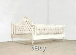 French Marseilles Superking Bed French White Shabby Chic Brand New