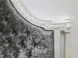 French Marseilles Superking Bed White Shabby Chic Brand New