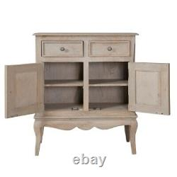 French Shabby Chic Vintage Style Sideboard Cupboard Cabinet NEW