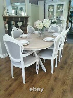 French Shabby Chic table and chairs