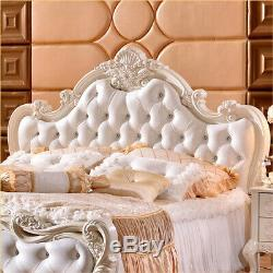 French Style Bed, SUPER KING SIZE, Shabby Chic Bed, Rococo Bed, Baroque Bed