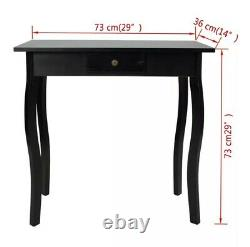 French Style Console Table Hall Hallway Shabby Chic Furniture 1 Drawer Storage