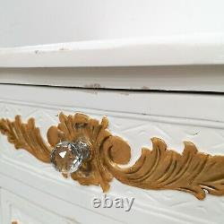 French Style Rococo Bedsides L'amour Shabby Chic Brand New