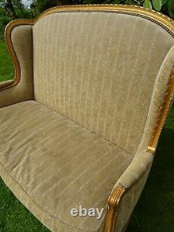 French Style Shabby Chic High back Sofa Collection Only