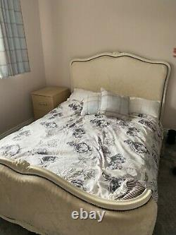 French louis double bed, shabby chic furniture