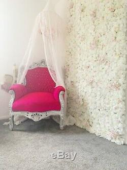 French rococo louis thrown arm chair shabby chic