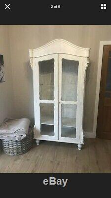 Gorgeous Shabby Chic French Style Wardrobe / Display Unit