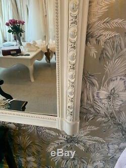 Large Ornate French Style Mirror Shabby Chic
