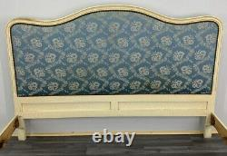 Louis XV Style Vintage French shabby chic King size Bed