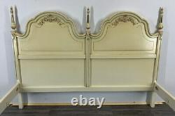 Louis XV Style shabby chic Vintage French KING SIZE Bed