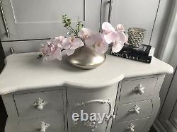 Lovely French Louis Ornate Style Chest Of Drawers Sideboard Cupboard Shabby Chic