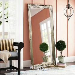 Modern Vintage French Style Length Floor Wall Shabby Chic Decor Mirror Antique