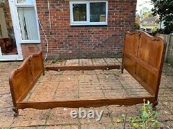 Original Vintage French 5FT King Size Bed Frame Great Condition