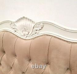 Rococo Kingsize Chateau Bed French White Hand Made Brand New Shabby Chic