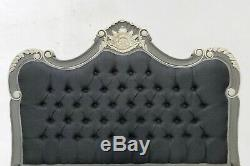 Rococo Kingsize Palais Bed French Grey Hand Made Brand New Shabby Chic