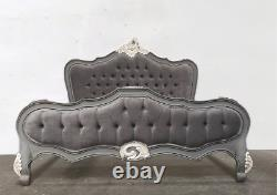 Rococo Superking Parisian Bed French Grey Hand Made Brand New Shabby Chic