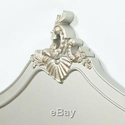 SECONDS French Style Antique Silver 4ft6 Double Size Shabby Chic Headboard