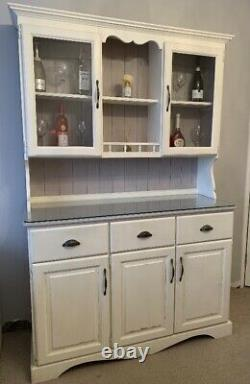 Shabby Chic, Annie Sloan Painted French/Welsh Pine Dresser/Cabinet