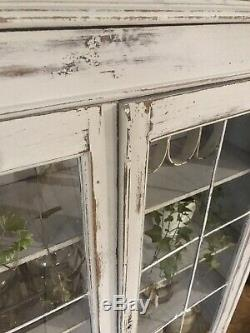 Shabby Chic Bookcase/Display Cabinet In Annie Sloan