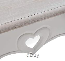 Shabby Chic Coffee Table French Style Furniture Antique White Vintage Room Unit