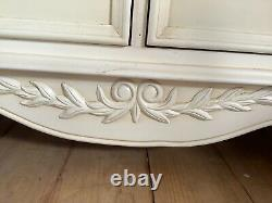 Shabby Chic French Country Style Large Chest Of Drawers/sideboard