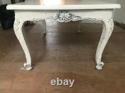 Shabby Chic French Dining Table Chateau Style