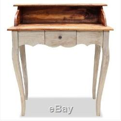 Shabby Chic Writing Desk Bureau Antique Vintage French Style Furniture Wooden