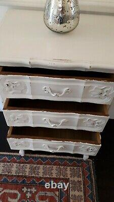 Shabby chic French single bedside table