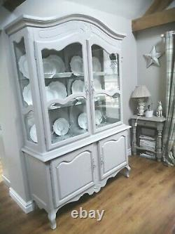 Stunning French Shabby Chic, Armoire Display Dresser