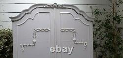 Vintage Painted French Style Wardrobe Shabby Chic CAN ARRANGE COURIER