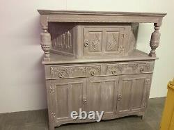 Vintage sideboard French style shabby coco Annie Sloan chalk paint & white wax