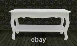 White French Coffee Table Shabby Chic Style Furniture Living Room Solid Pine